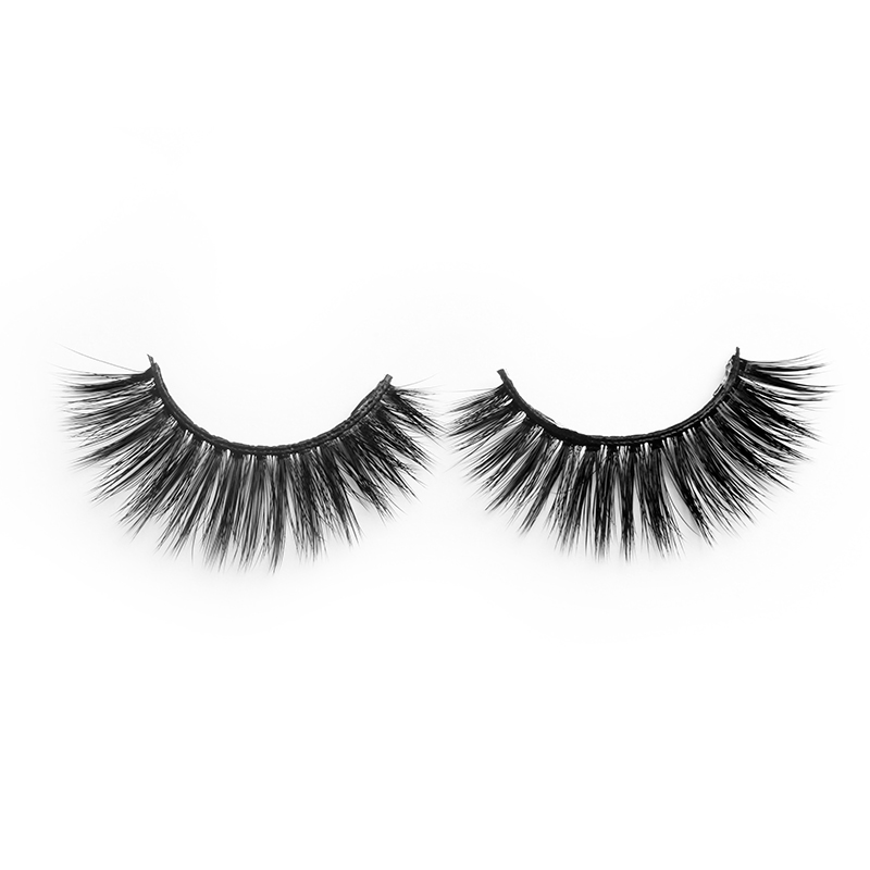Private Label Double Layer Lashes 3D Silk Lashes